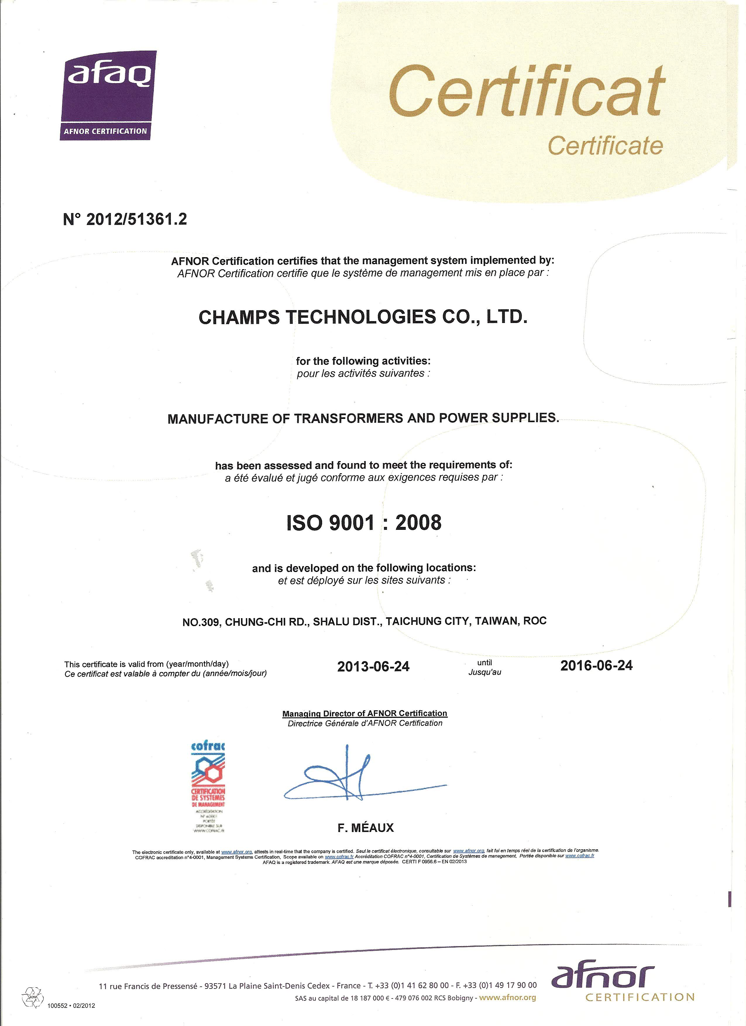 Quality Assurance Champs Technologies